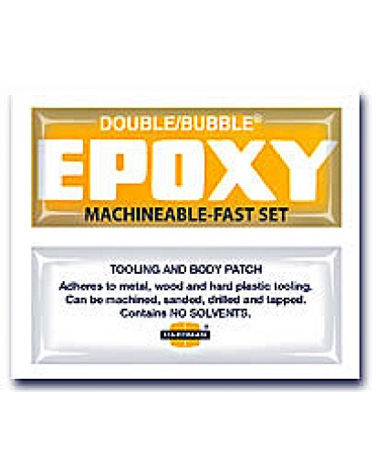 Machinable Yellow Pouch Double Bubble Epoxy