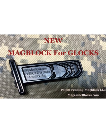 Glock 19 (10/15) Magblock 10 Round Limiter