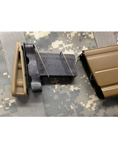 SCAR 17 Magblock 10/20 limits 20 round magazines down to 10 rounds. Easy to install.