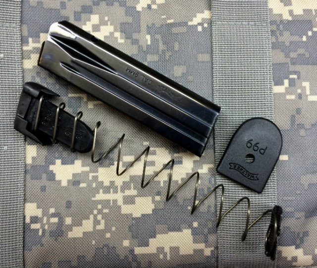 Walther P99 10 Round Magazine Capacity Limiters