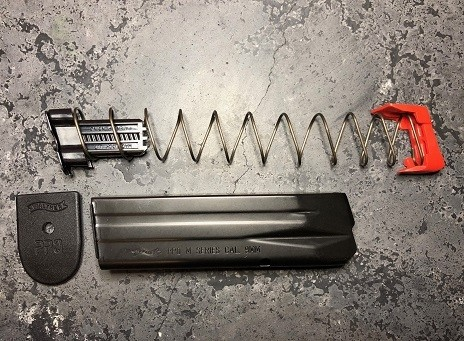 Walther PPQ M2 10 Round Magazine Capacity Limiters