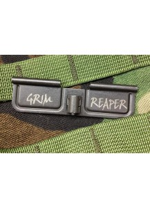 AR Customized Ejection Port / Dust Cover: Grim Reaper