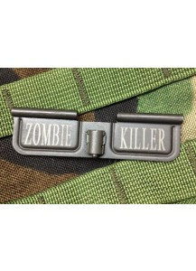 AR Customized Ejection Port / Dust Cover: ZOMBIE KILLER