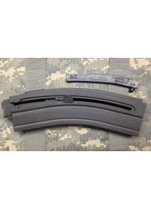 HK416 22LR 10 round limiter. Works with the pictured magazines.