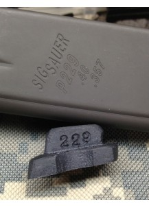 Sig P229/226 .40 Magblock 10 round limiter for 12 round magazines.