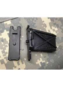 Our Magblock for Thermold 20 round AR magazines replaces the original locking plte and have a built in floor plate locking tab.