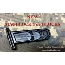 Glock 22 (10/15) Magblock 10 Round Limiter. Comes pre-cut to the correct size.